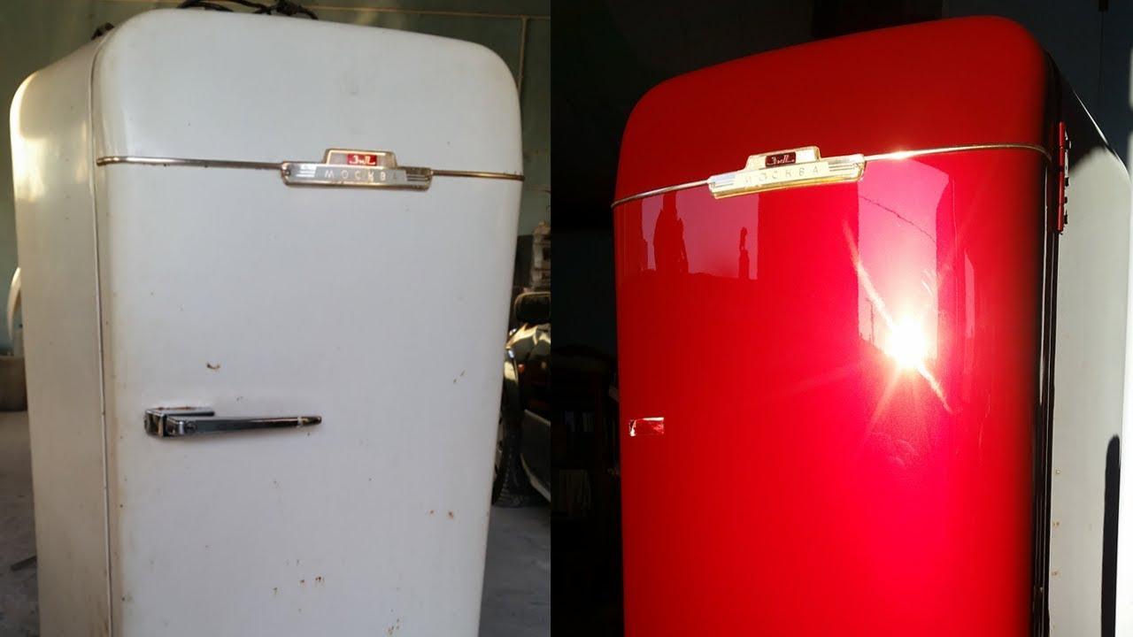 как покрасить холодильник в другой цвет?