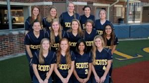 lady scots softball team 2015-16