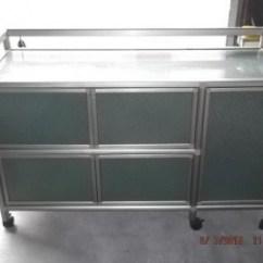 Buy Old Kitchen Cabinets Recessed Lighting For 二手收納櫃出售 大台北二手傢俱 鋁製廚櫃1500 591居家 家具 收納櫃 鋁製廚櫃1500已成交