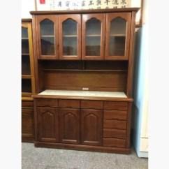 Buy Old Kitchen Cabinets Grohe Faucets 二手碗盤櫥櫃出售 中古實木廚櫃d01 591居家 家具 碗盤櫥櫃 中古實木廚櫃d01已成交