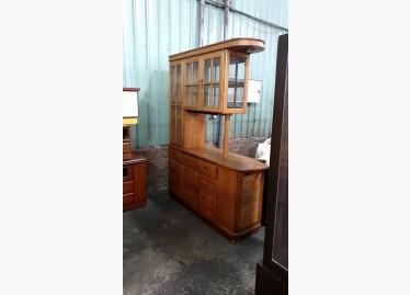 二手收納櫃出售.01234-橡木隔間櫃 - 591居家/家具