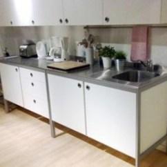 Ikea Kitchen Countertops Rustic Cart 全新流理台出售 全新不銹鋼檯面櫥櫃一組 591居家 家具 流理台 全新不銹鋼檯面櫥櫃一組已過期