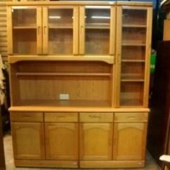 Buy Old Kitchen Cabinets Exhaust Fans Home Depot 二手碗盤櫥櫃出售 尚典中古家具 松木色系統收納廚櫃 591居家 家具 碗盤櫥櫃 松木色系統收納廚櫃已成交