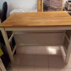 Oak Kitchen Chairs Small Kitchens With Islands 二手其它桌椅出售 廚房中島桌橡木 591居家 家具 其它桌椅 廚房中島桌橡木已過期
