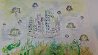 city pod home- by Heather