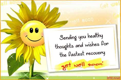 Free Download Get Well Soon Wishes Card Images