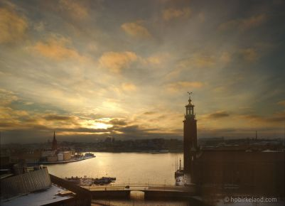 Stockholm Winter Sunrise