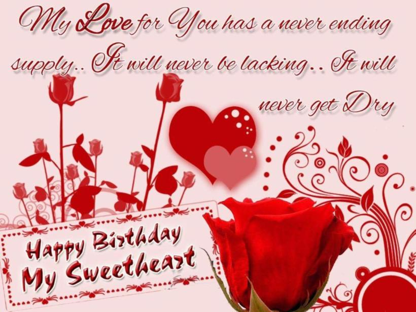 Lovely And Beautiful Birthday Wishes To Make Your Girlfriend Happy