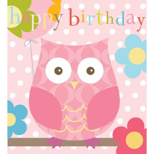 Happy Birthday Wishes With Owl Images Wallsmiga