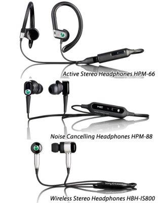 Портативные динамики и гарнитуры Sony Ericsson