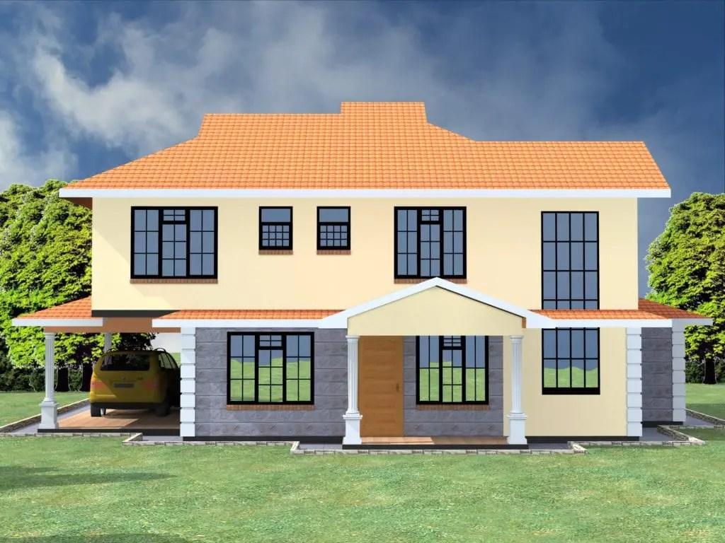 5 Bedroom Maisonette House Plans Novocom Top