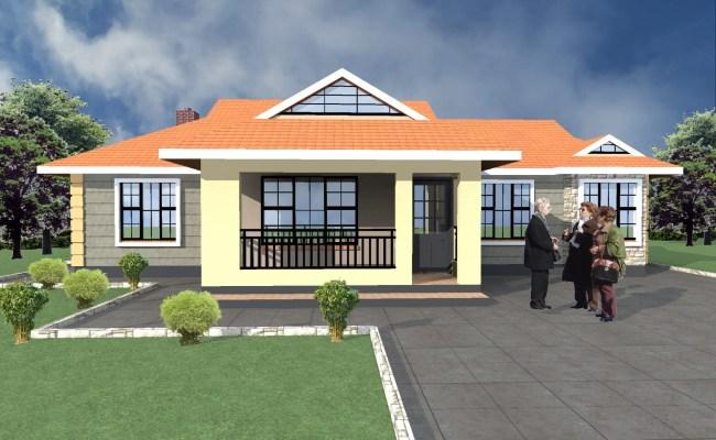 Elegant 3 Bedroom Bungalow House Plans Hpd Consult