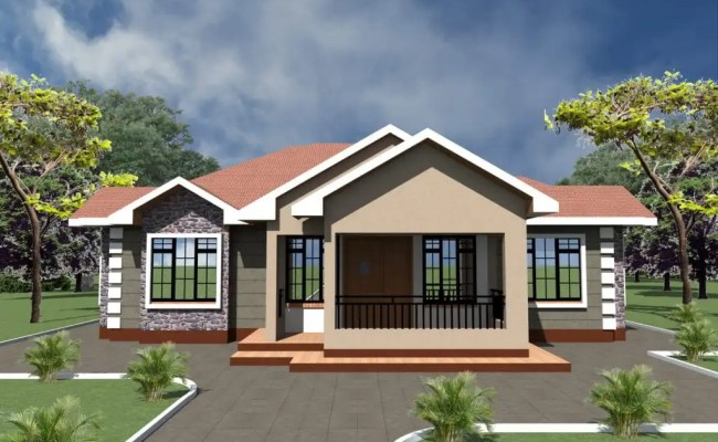 Simple 3 Bedroom House Plans And Designs Hpd Consult