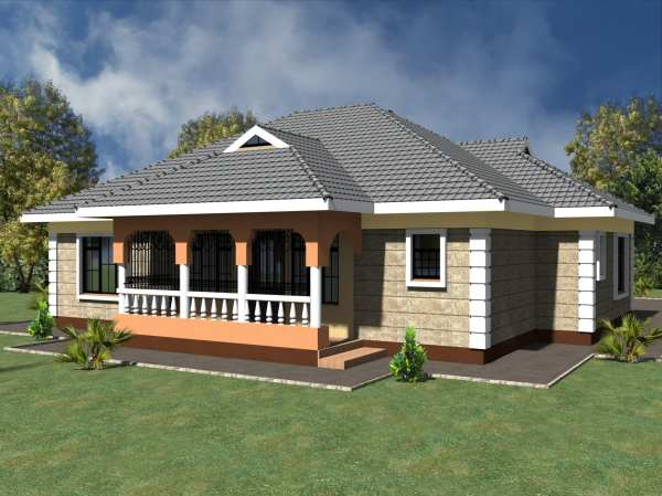 Simple 3 Bedroom House Plans Garage Hpd Consult