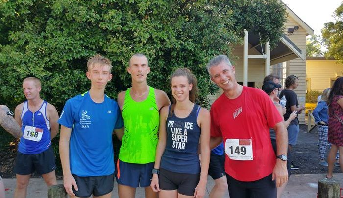 HPD running squad at the 2015 Upper Beaconsfield Tower Challenge