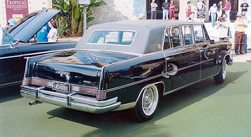 Willys Itamaraty Executivo 1967 - o primeiro antigo com placas pretas do Brasil