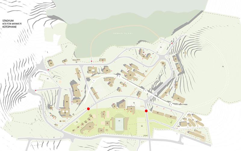 Düzce University Campus Masterplan