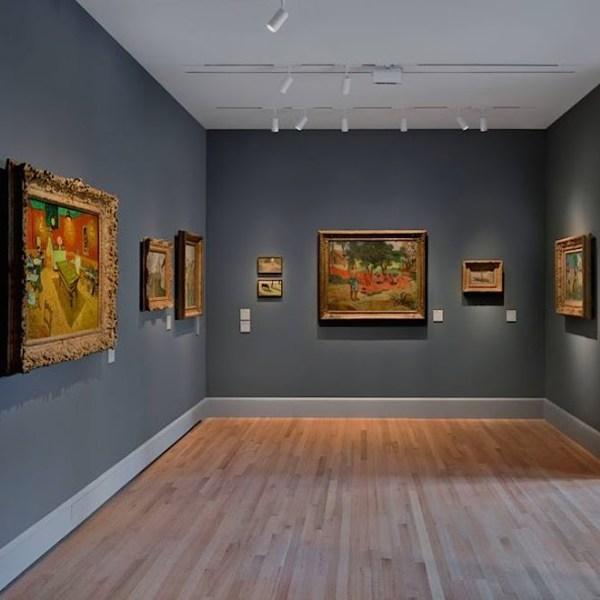 Yale University Art Impressionist Paintings Hefferan Partnership Lighting Design