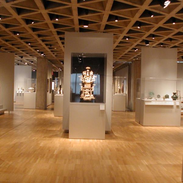 Yale University Art Kahn Wing Asian