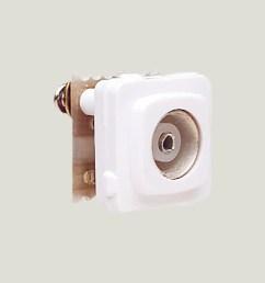 f connector socket view [ 1350 x 1360 Pixel ]
