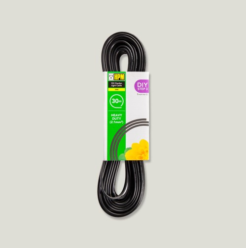 small resolution of garden light cable