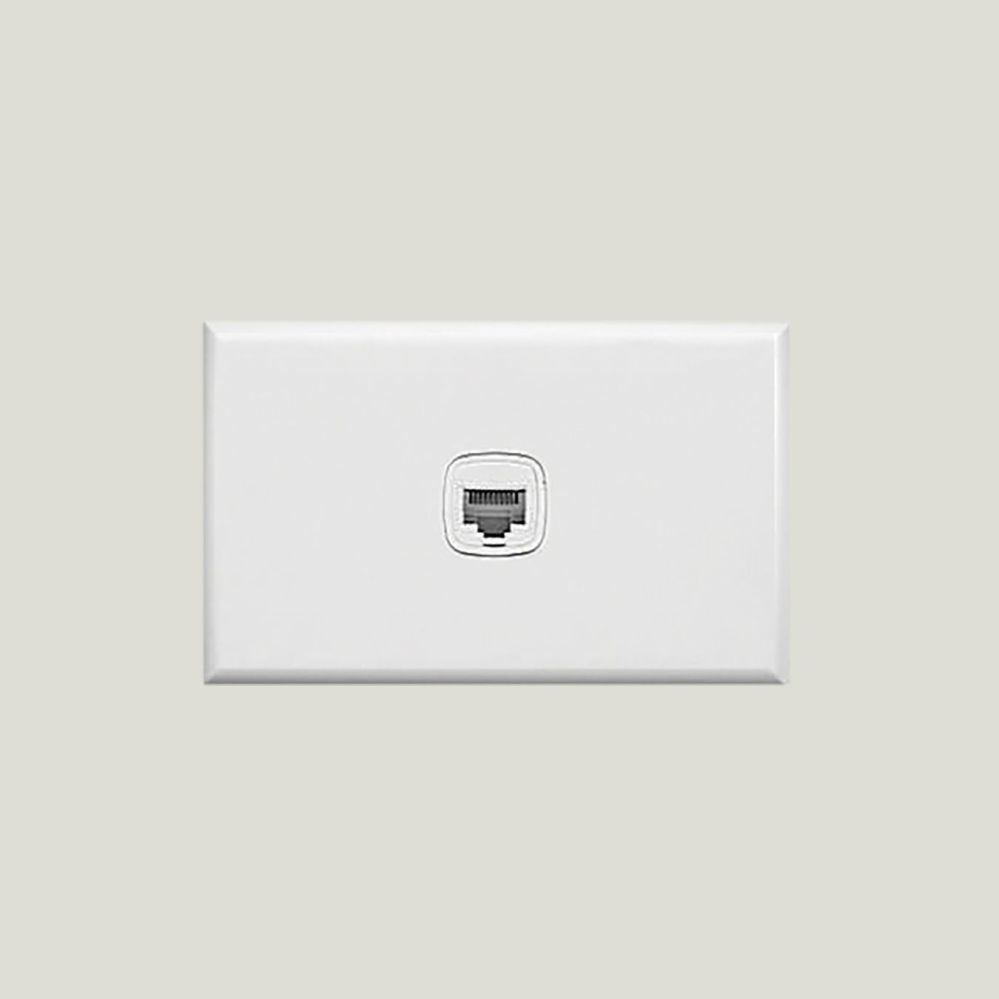 medium resolution of view phone outlet rj12 1 gang cat3