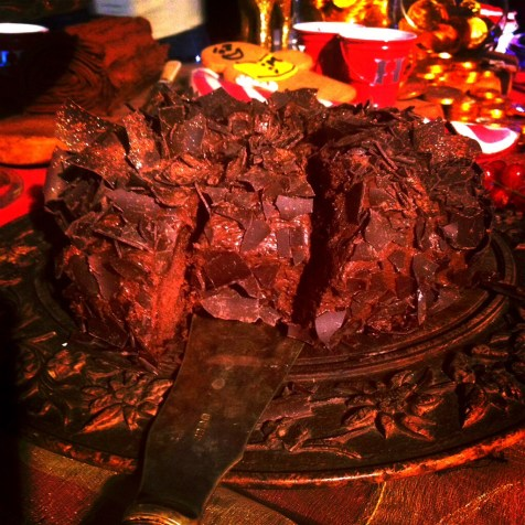chocolate fudge crown