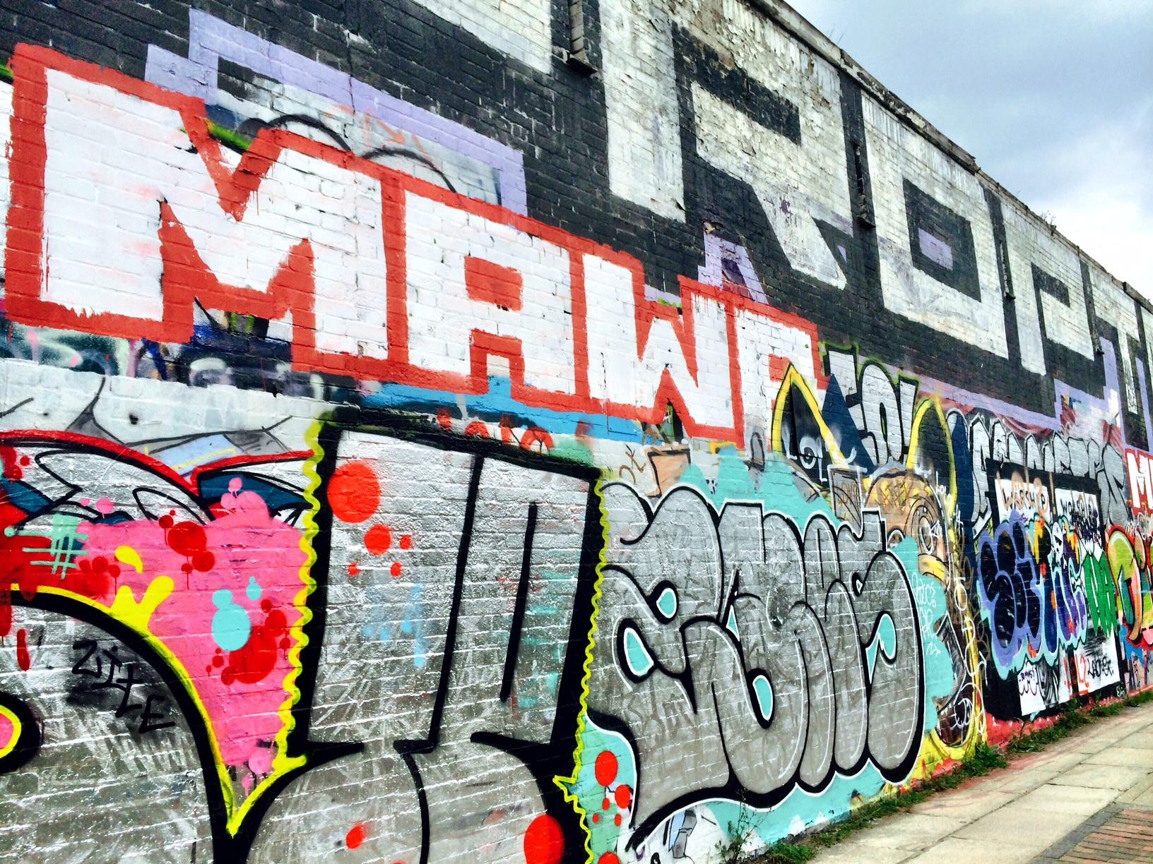 graff wall hertford union 1
