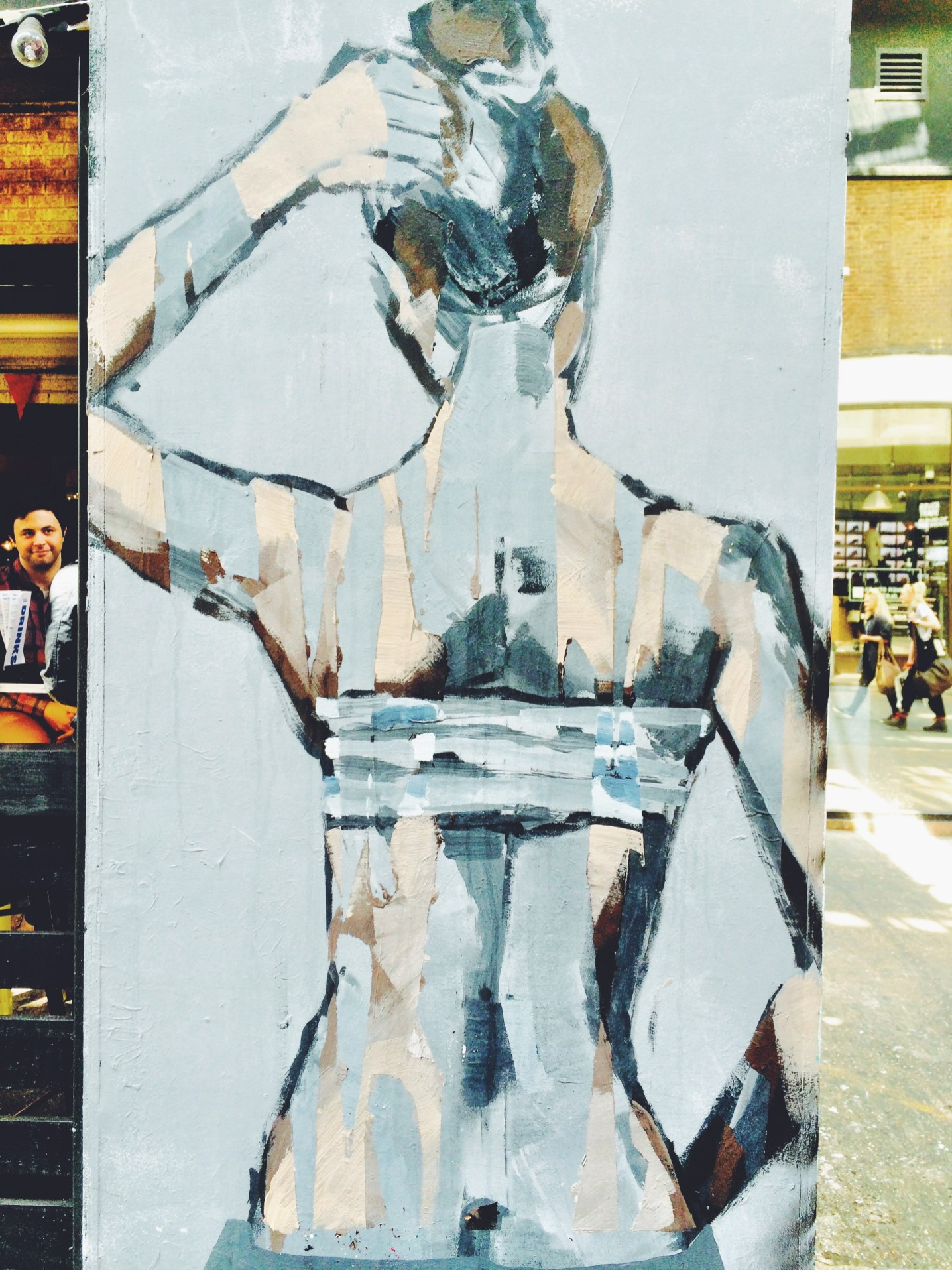 shoreditch street art borondo