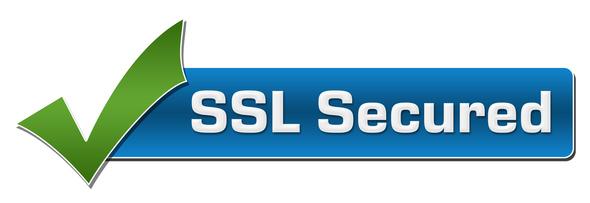 SSL Secured Green Checkmark Horizontal