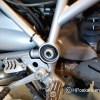BMW zonder afdekdop frame links