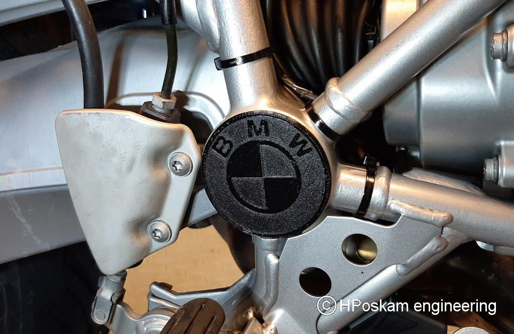 BMW afdekdop frame