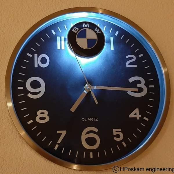 BMW klok