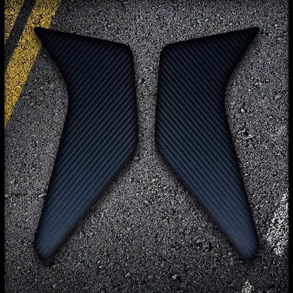 Rubbatech AK Carbon Africa Twin kniepads