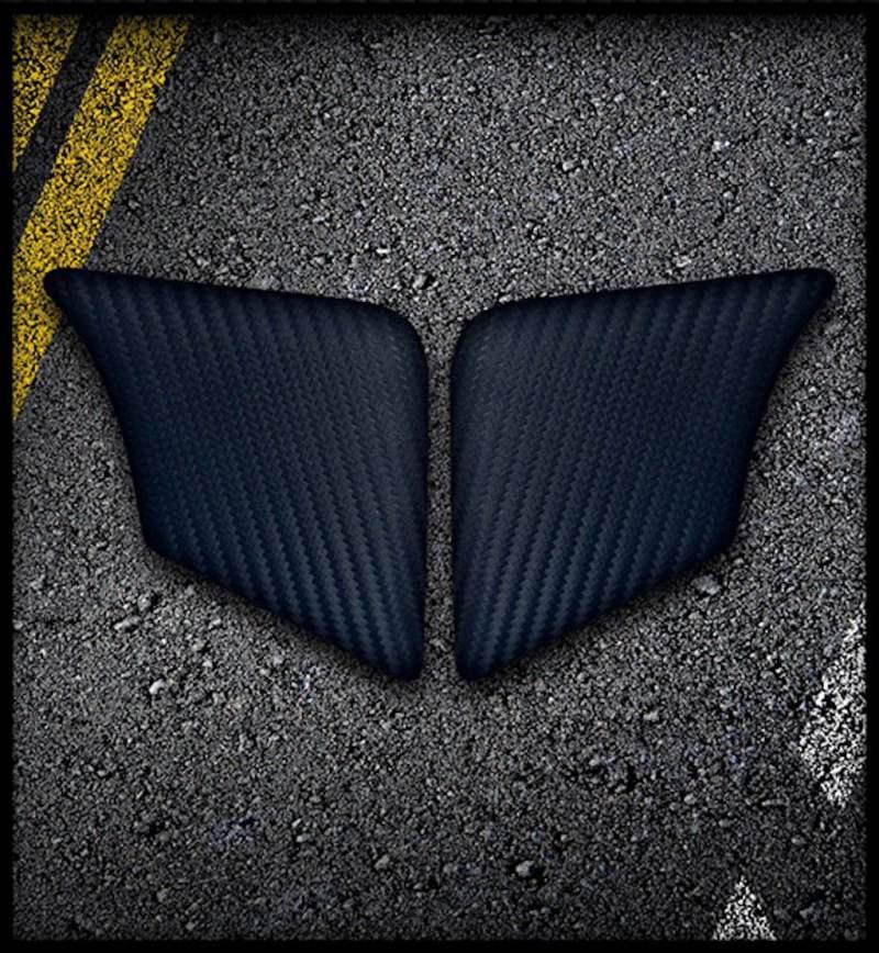 ak carbon Knee pads Triumph Tiger 800