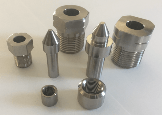 Avure/JBT and Hiperbaric Gland Nuts, Collars, and Plugs