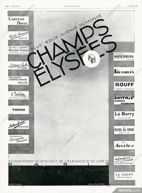 Plus Belle Avenue Du Monde : belle, avenue, monde, Champs-Elysées, Belle, Avenue, Monde, Carlton,