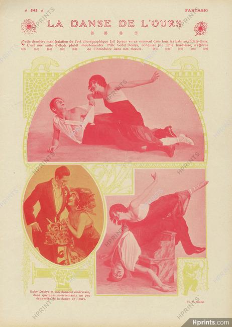 La Danse De L Ours : danse, Deslys, Danse, L'ours