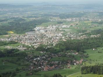 Wernetshausen, Hinwil, Wetzikon, Uster und Greifensee