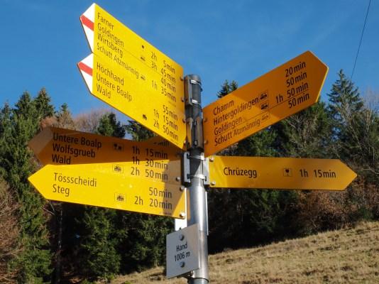 5 Richtungen zur Auswahl!