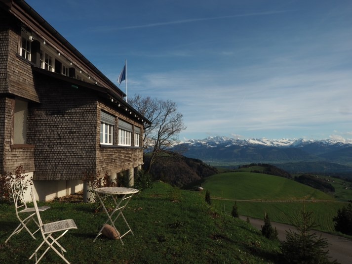 Alpenpanorama von der Scheidegg
