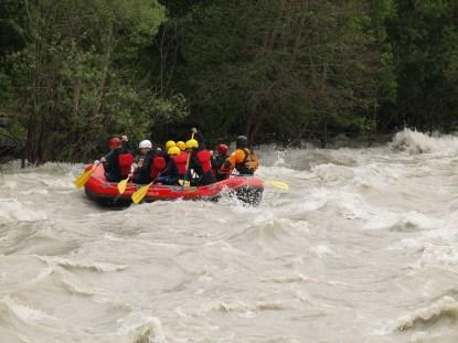 Action bei Hochwasser!