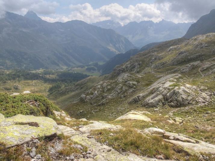 Aussicht vom Berninapass