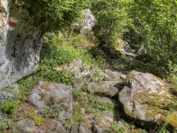Wanderweg von Miralago nach Brusio