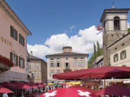 Mittwochmarkt in Poschiavo