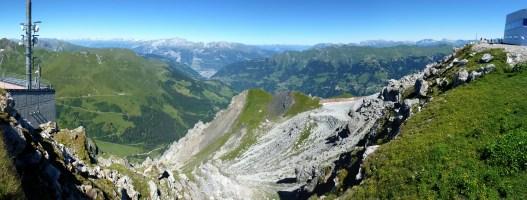 Vom Gipfel Richtung Chur