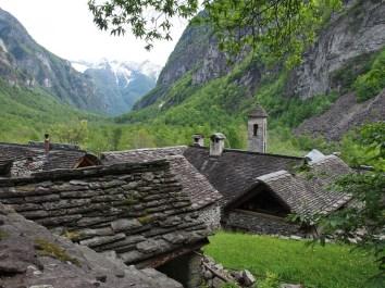 Foroglio im Val Bavona