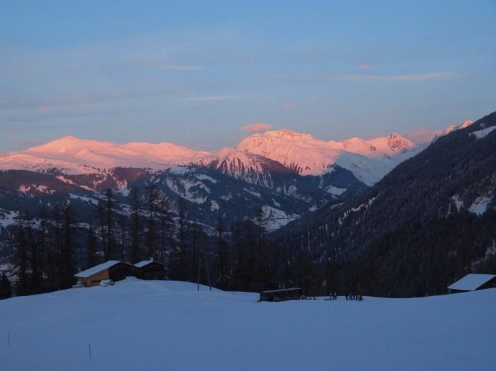 Ein toller Skitag neigt sich dem Ende