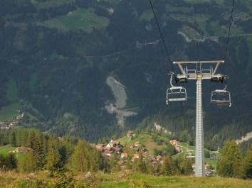 Tiefblick vom Waldstafel