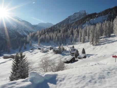 Traumtag auf Fups mit Blick Richtung Alpstein